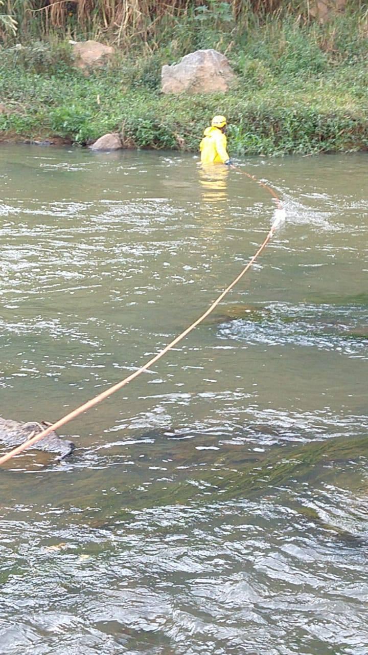Corpo é encontrado às margens do rio Manhuaçu