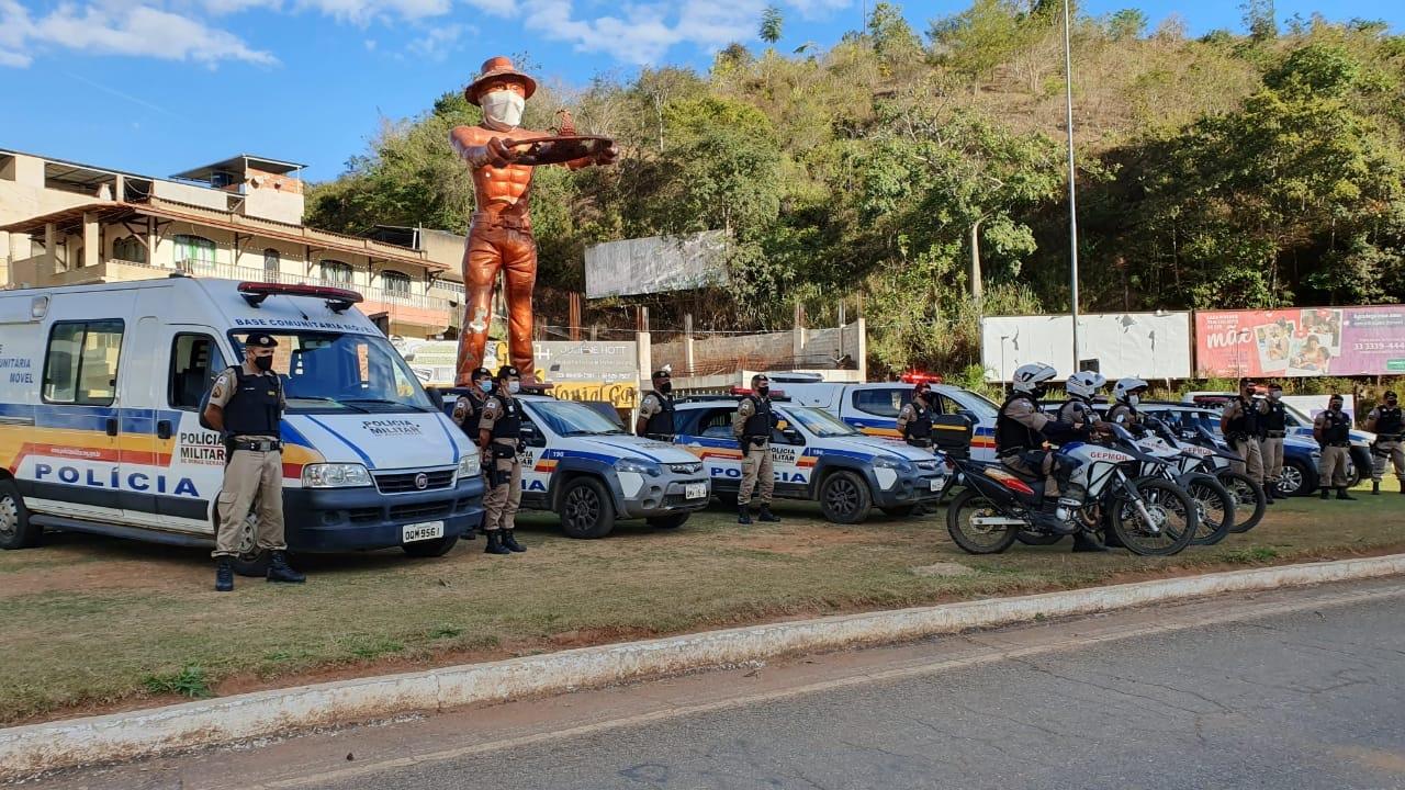 11º BPM – Polícia Militar comemora os seus 246 anos de existência com a operação alferes