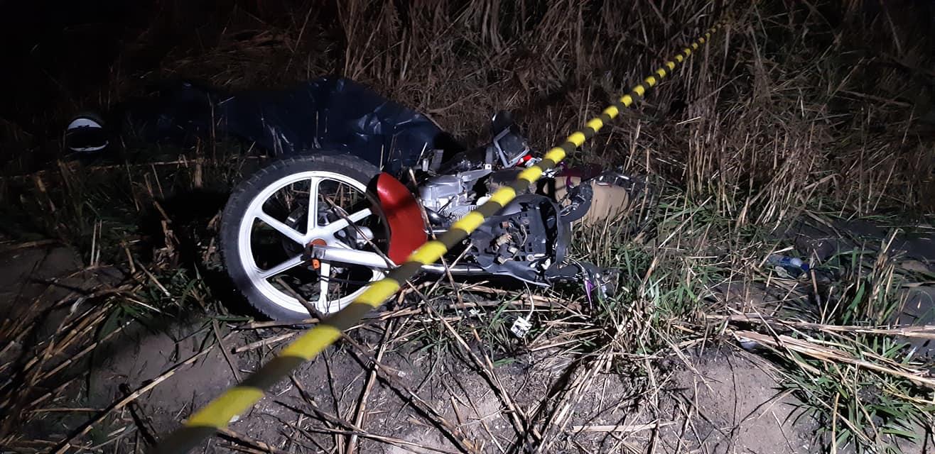 Jovem morre após colisão entre carro e moto em dom Corrêa, distrito de Manhuaçu