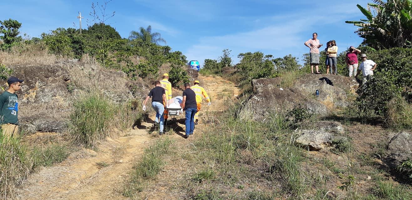 Encontro de cadáver é registrado em córrego na zona rural