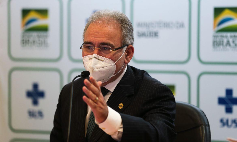 Ministro diz que 160 milhões serão vacinados até dezembro no Brasil