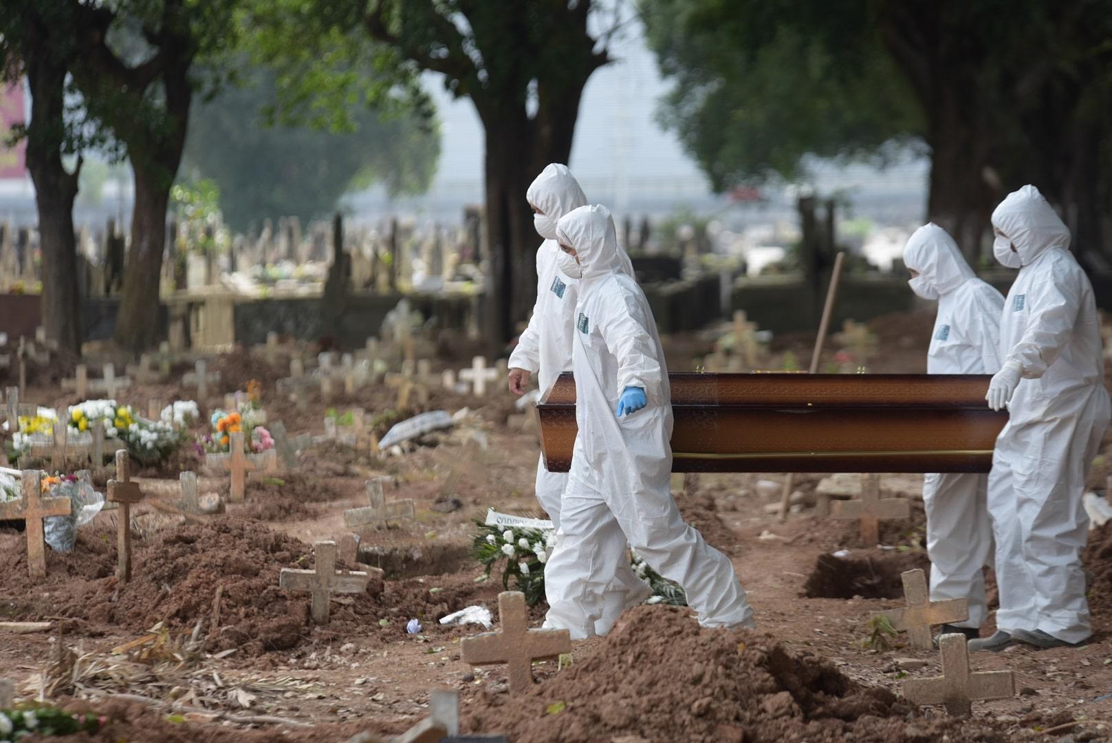 Brasil registra mais 542 mortes por Covid-19 em 24h