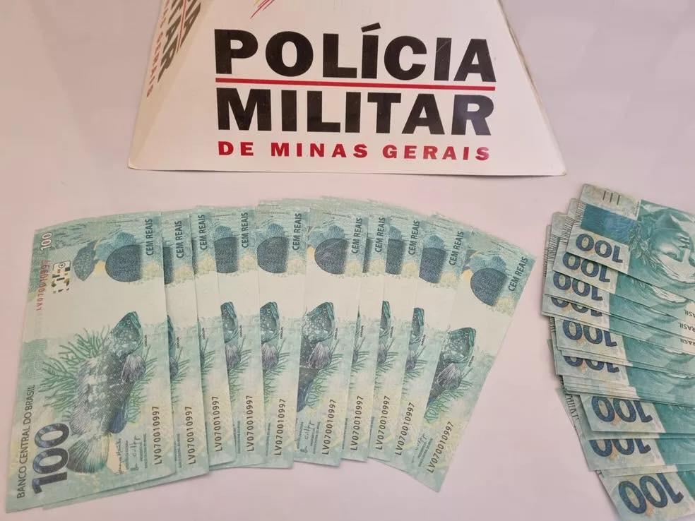 Mulher é presa em Mutum com R$ 6 mil em notas falsas