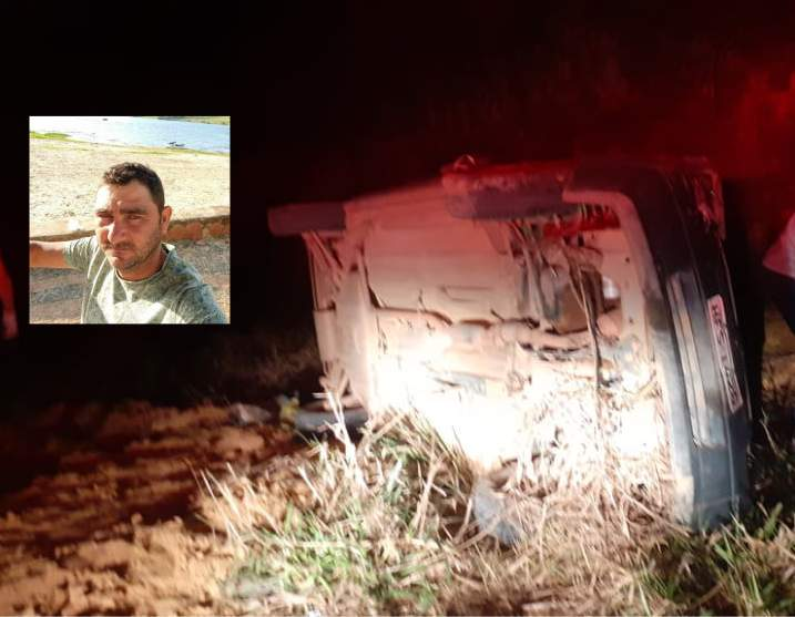 Homem morre após carro capotar em Ipanema