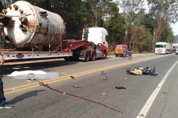 Jovem morre em acidente na BR-116