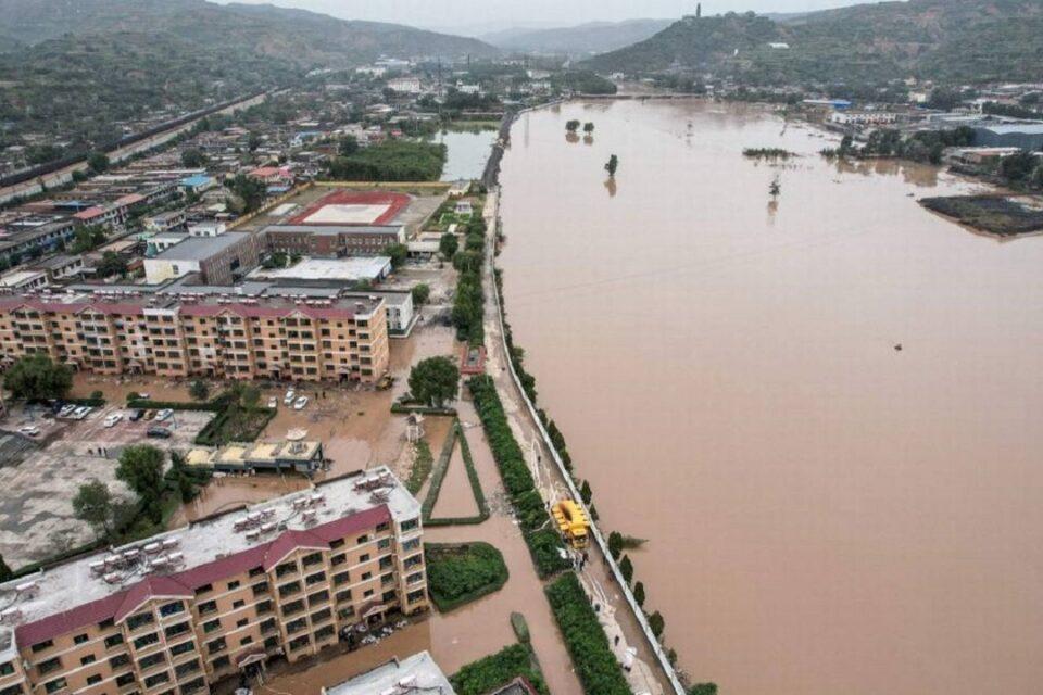 Enchentes na China afetam 1,7 milhão, matam 5 pessoas e fecham minas de carvão