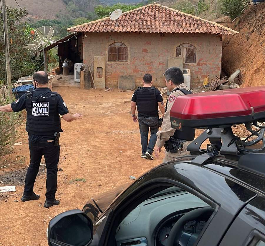 Homicídio em Manhuaçu: PC prende acusado e realiza buscas