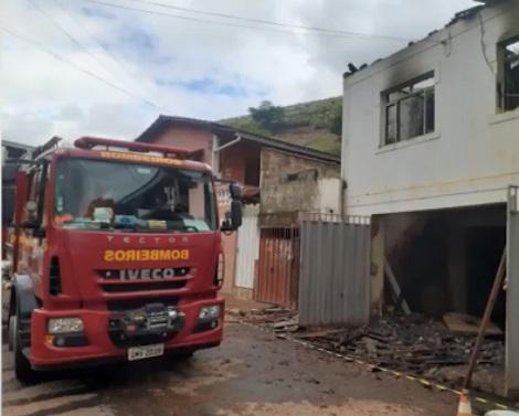 Incêndio em residência é registrado em Santa Margarida