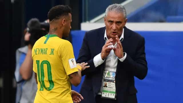 Tite não divulga a escalação contra a Colômbia, mas garante Neymar em campo